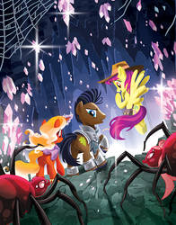 MLP: Tails of Equestria: Festival of Lights Cover
