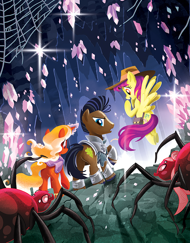 MLP: Tails of Equestria: Festival of Lights Cover by TonyFleecs