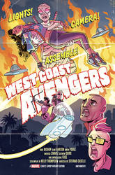 West Coast Avengers #2 Variant Cover by TonyFleecs