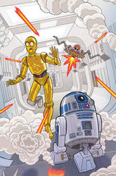 Star Wars Adventures #9 Variant Cover