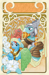 My Little Pony: Legends of Magic #8 Cover by TonyFleecs