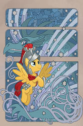 My Little Pony: Legends of Magic #9 Cover by TonyFleecs