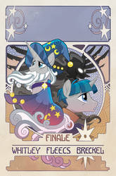 My Little Pony: Legends of Magic #12 Cover by TonyFleecs