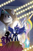 My Little Pony: Nightmare Knights #1 Cover by TonyFleecs