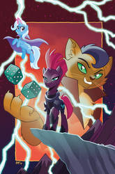 My Little Pony: Nightmare Knights #2 Cover by TonyFleecs