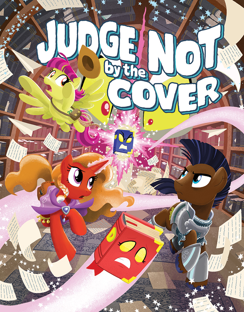 MLP Tails of Equestria: Judge Not by the Cover by TonyFleecs