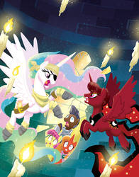 MLP Tails of Equestria: the Haunting of Equestria by TonyFleecs
