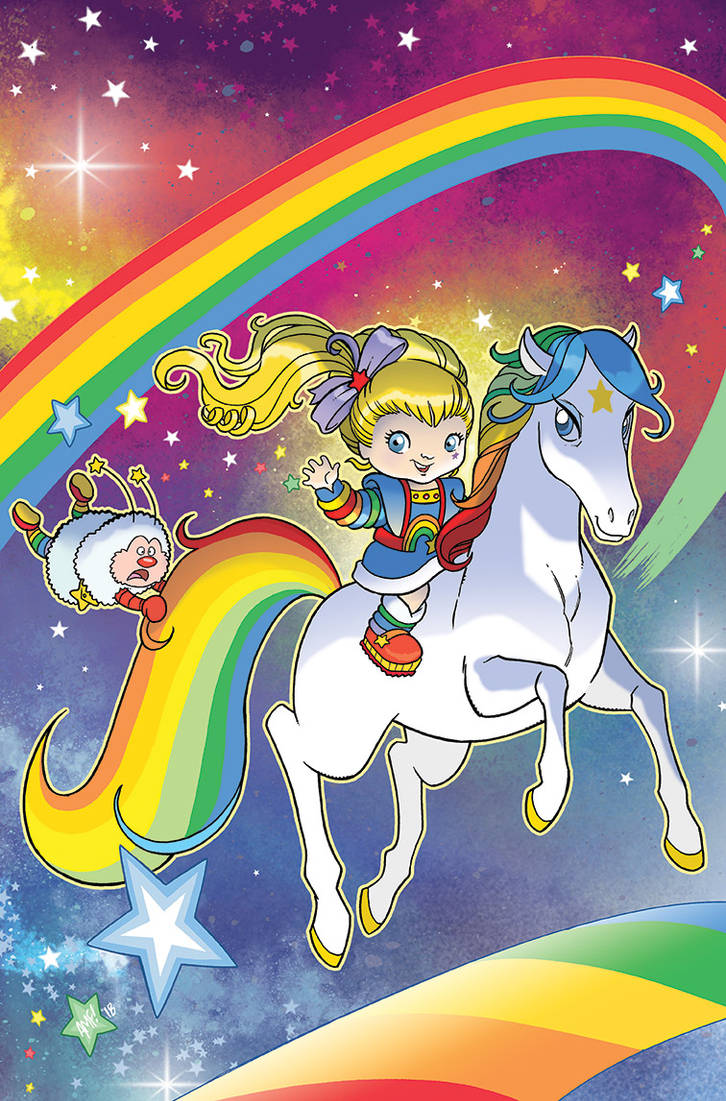 Rainbow Brite #1 Variant Cover by TonyFleecs