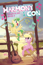 Harmony Con Program Cover by TonyFleecs