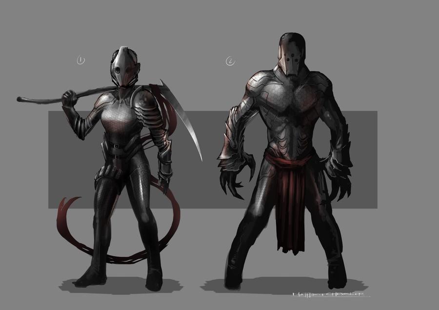 Character Design by 7leipnir