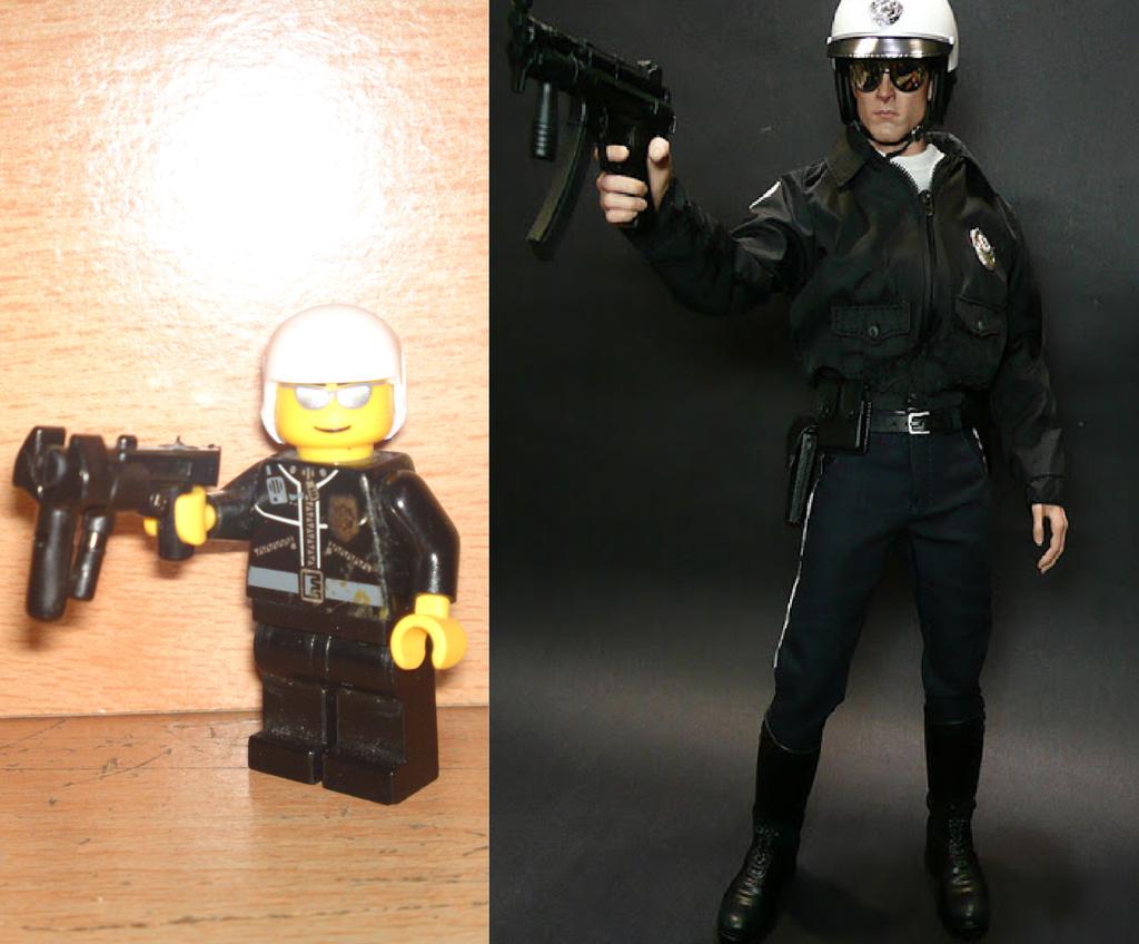 how to make a lego terminator