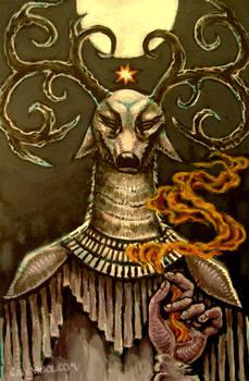 solstice elk shaman