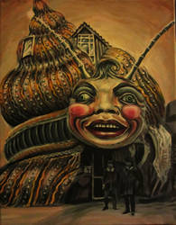 haunted snail, dreamland UK by cannibol