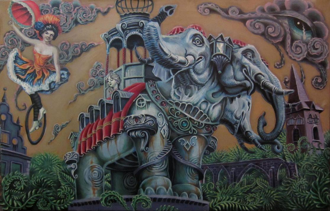 elephant hotel by cannibol