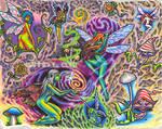 faery tattoo flash page