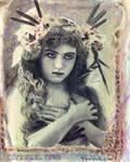 vintage nature girl