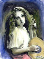 mandolin girl by cannibol