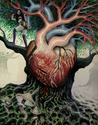 trees have a heartbeat