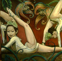 contortion girls by cannibol