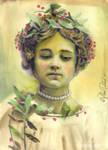 vintage nature girl 02