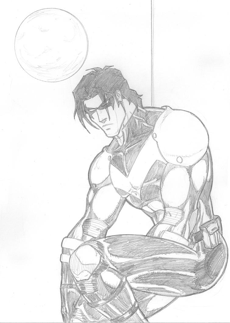 Nightwing Pose By Tito Paredes By NewEraStudios 269658 Nightwing