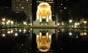 Anzac Memorial Hyde Park Sydney by Banjooie64