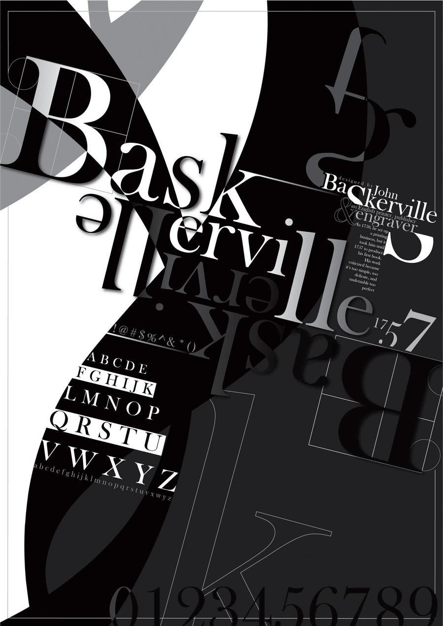 Baskerville by elizz05 on deviantart Baskerville