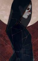Hawke Tarot Card by Patrisska