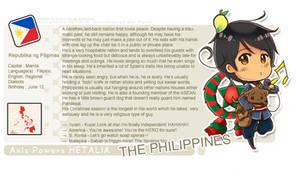 Hetalia: Philippines Profile
