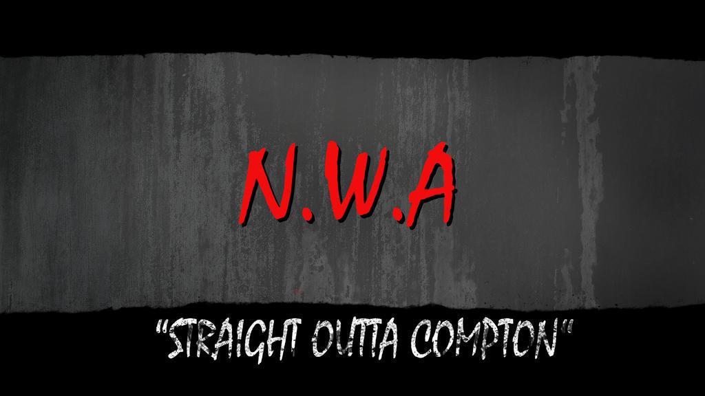 Straight Outta Compton Wallpaper