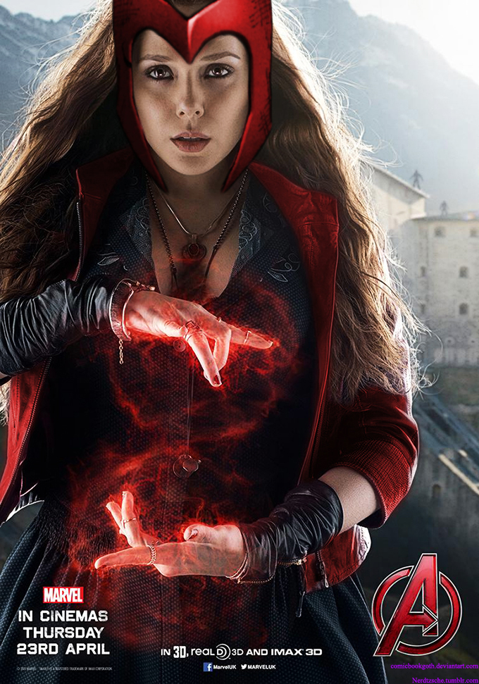 Scarlet Witch by ComicBookGoth