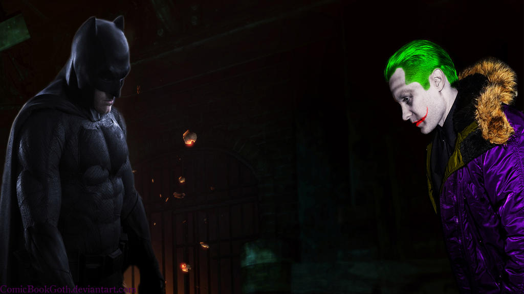 Jared Leto Joker by ComicBookGoth