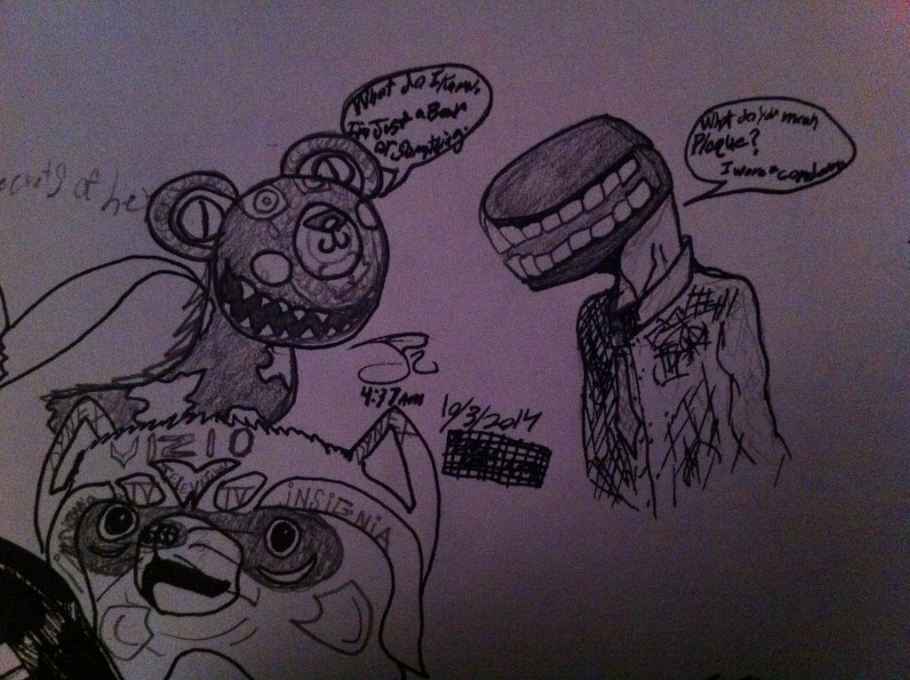 insomnia is a hell of a thing by ComicBookGoth