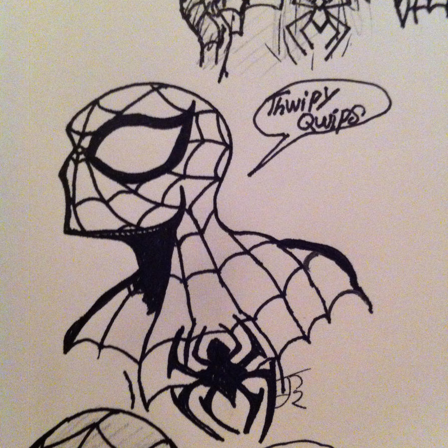 Summation of the ol' Parker Wit by ComicBookGoth