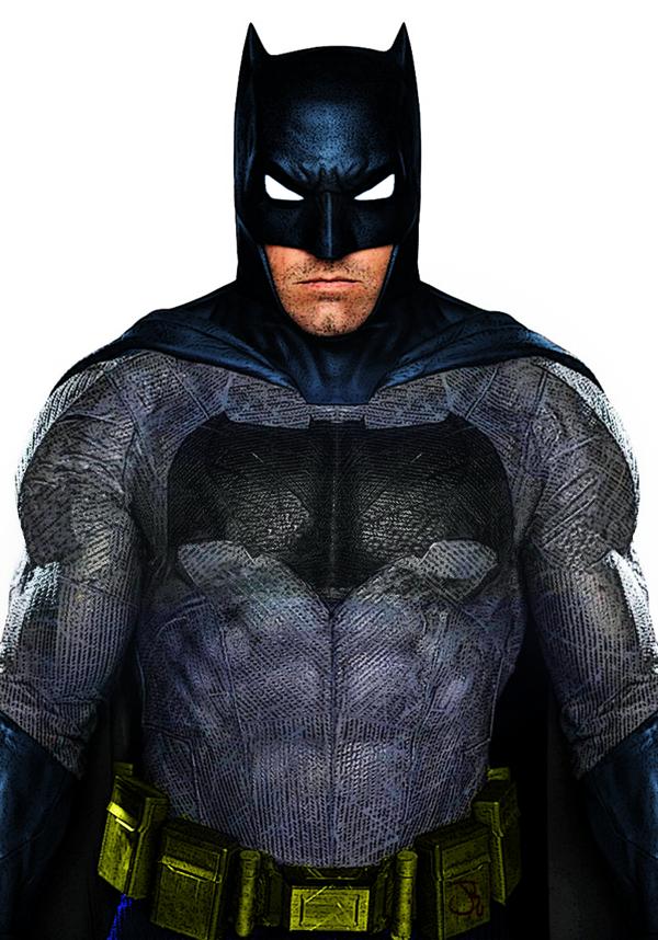 Batfleck in color by ComicBookGoth