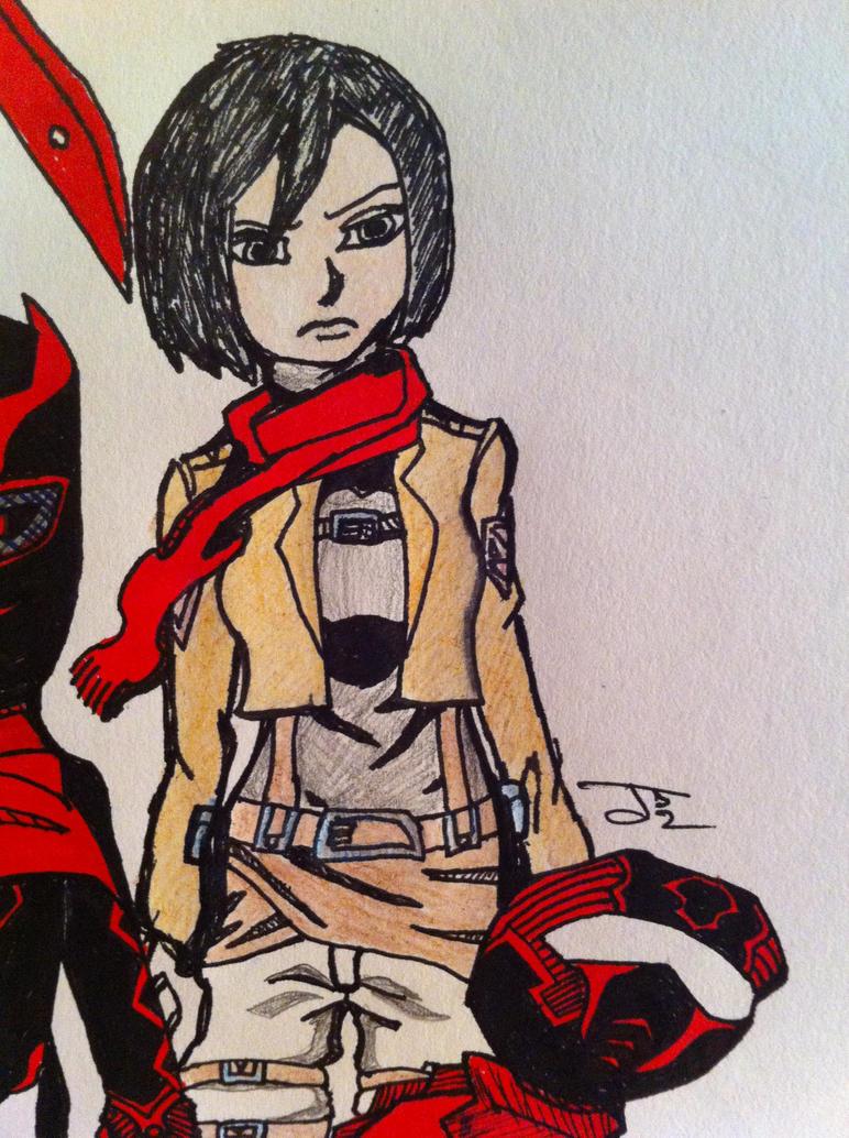 Ms.Ackerman by ComicBookGoth