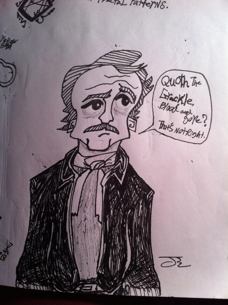 Poe is working on it by ComicBookGoth