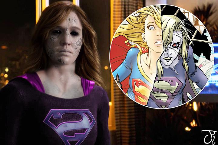 Bizarro Supergirl by ComicBookGoth