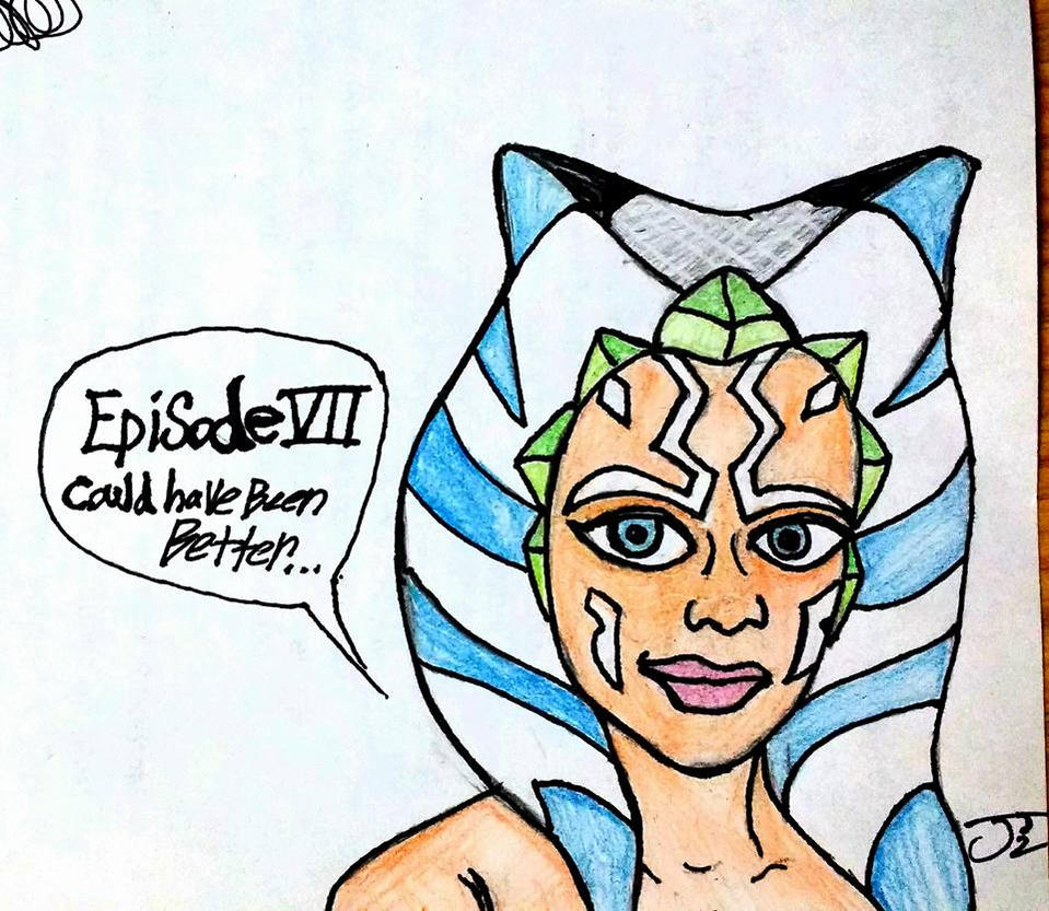Afternoon Ahsoka Doodle by ComicBookGoth