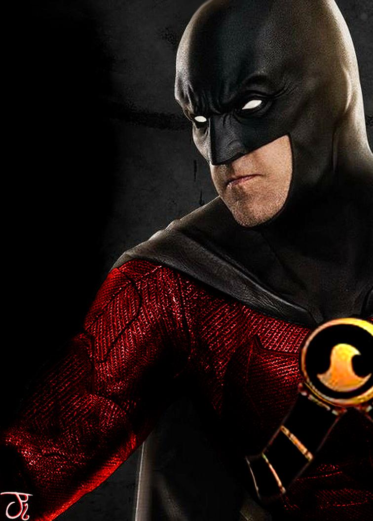 DCEU Red Robin by ComicBookGoth