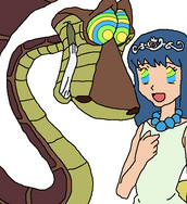 Kaa and Dawn Animation ver. 2 by BrainyxBat