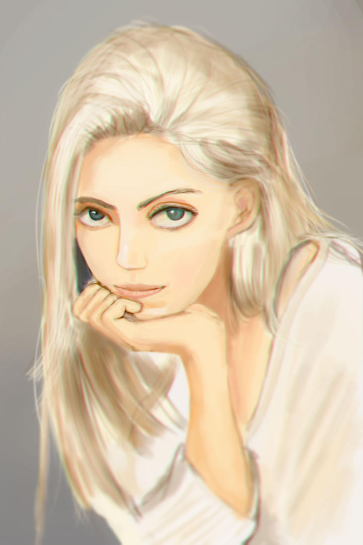 Warm up painting #16 by Higeneko9