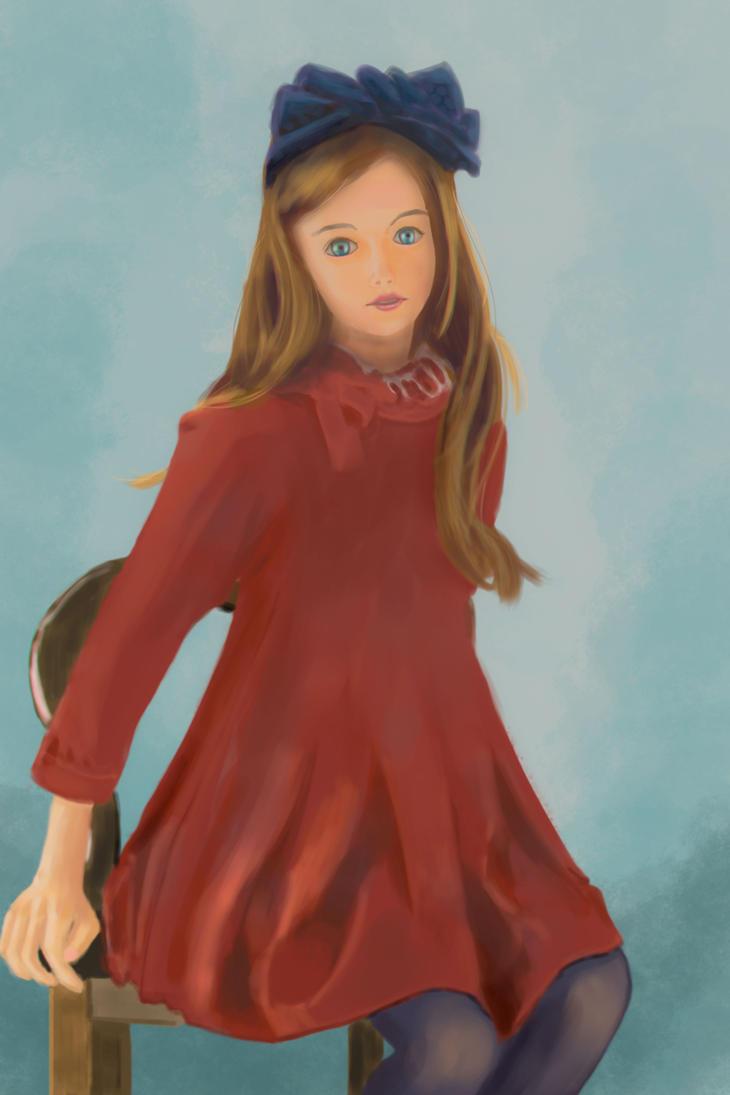 Warm up painting #17 by Higeneko9