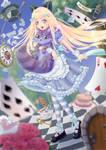 Alice and Cheshire Cat