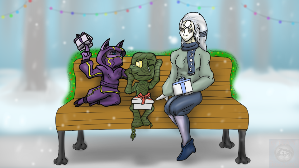 Secret Santa: Christmas Cheer all Around by GrayBeast