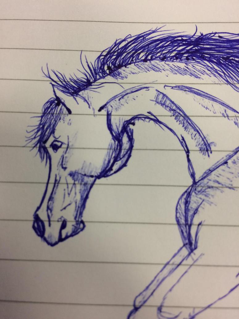 college sketch by Heda-Gona
