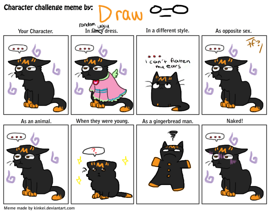 Funny Meme Characters : Boringest of all character memes by drawmachiine on deviantart
