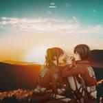 Sasha x Mikasa