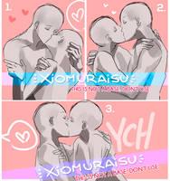 [YCH]- Kissus Batch 2  [CLOSED / THANK YOUU] by xiomuraisu