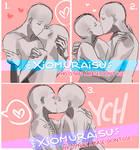 [YCH]- Kissus Batch 2  [CLOSED / THANK YOUU]